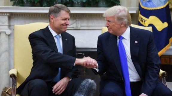 Klaus Iohannis la Casa Albă. Donald Trump susține intrarea României în programul Visa Waiver, care elimină viza pentru români