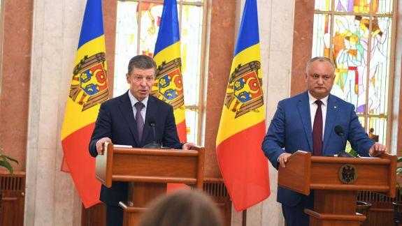 Kozak, la Chișinău: Alegerile anticipate sunt inevitabile