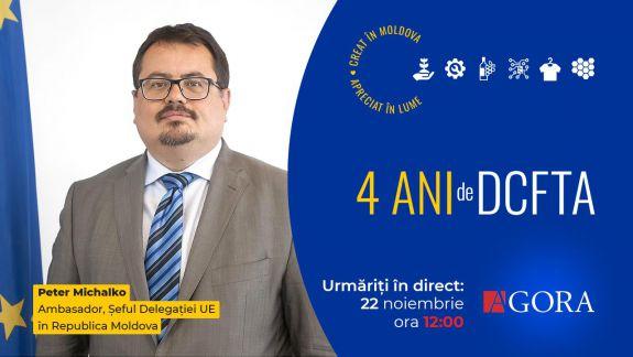 LIVE. Ambasadorul UE la Chișinău, Peter Michalko, în studioul AGORA