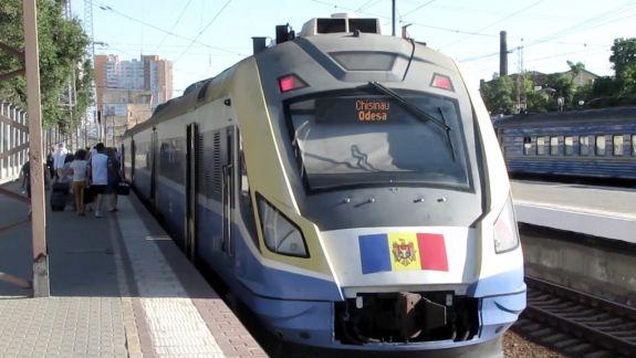 La Odesa, cu tren modernizat. Iată cât costă un bilet