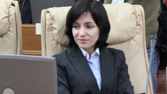 Maia Sandu: UE a recunoscut oficial Guvernul legitim votat ieri de Parlament
