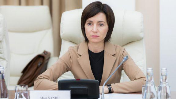 Maia Sandu cere Tiraspolului să ridice interdicția de călătorie pentru oficialii Republicii Moldova