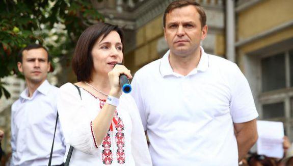 Maia Sandu combate declarația lui Popșoi despre candidatura lui Năstase la Primăria Chișinău: Nu există o decizie finală