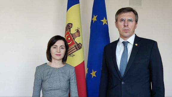 """Maia Sandu, cu îndemn la vot alături de Chirtoacă: """"Dacă nu mergi la vot să-l susții pe Năstase, înseamnă că îl ajuți pe Ceban"""" (VIDEO)"""