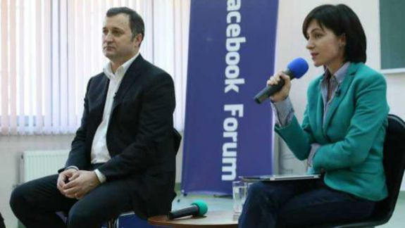 """Maia Sandu, despre Vlad Filat: """"Nu îl văd în calitate de concurent politic, nu-mi fac griji"""""""