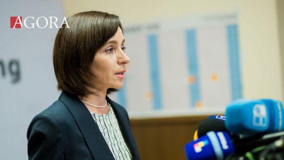"""Maia Sandu, despre coaliția cu socialiștii: """"Credem în continuare că am procedat corect atunci"""""""