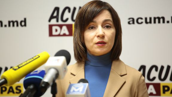 Maia Sandu, despre participarea la alegerile prezidențiale: Trebuie să candideze persoana care are cele mai mari șanse