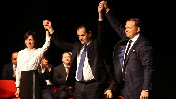 Maia Sandu l-a invitat la Chișinău pe proaspătul premier al României, Ludovic Orban
