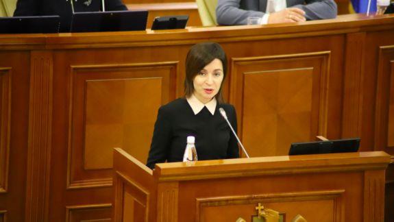 Maia Sandu nu va mai discuta cu socialiștii dacă moțiunea va fi susținută în plen și nu exclude că PSRM ar fi complotat cu PD