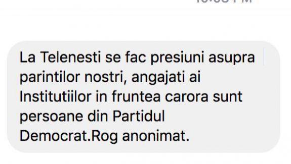 Mesaje pe adresa redacției: Oamenilor din Ungheni și Telenești li se spune să vină dimineața la protest în Chișinău