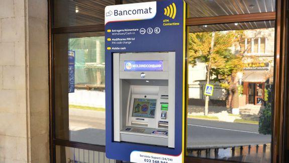 A fost lansat primul bancomat din Republica Moldova în care nu e nevoie să introduci cardul
