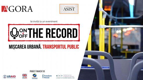 ON&OFF the Record, despre transportul public din Chișinău sau care e calea corectă pentru călătorii urbane confortabile