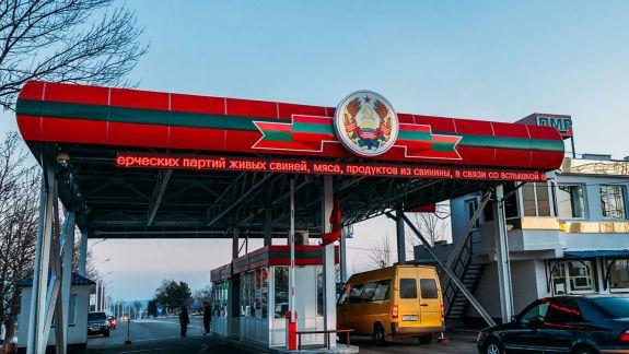 Oficialii de la Chișinău au primit liber pentru deplasări în Transinistria