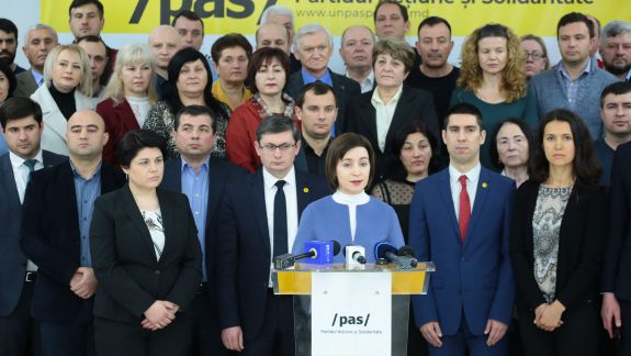 Olesea Stamate este candidata PAS pentru alegerile din Hîncești. Formațiunea cere susținerea PPDA