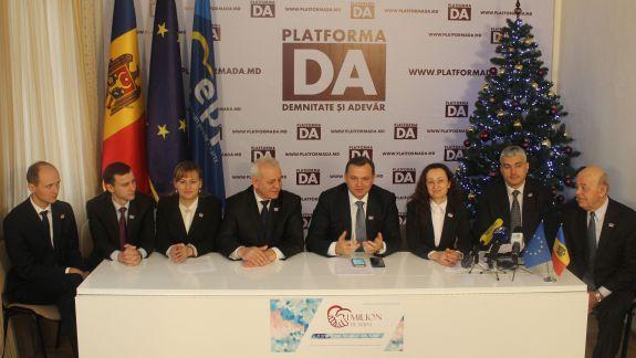 Platforma DA analizează posibilitatea unui candidat comun cu alte forțe politice, pentru prezidențialele din 2020. Tactica ar putea fi aplicată și la alegerile din Hîncești