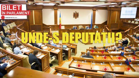 """Podcastul """"Bilet în Parlament"""": Ani de Parlament, cu absențe la ședințe, scumpii ani de Parlament..."""