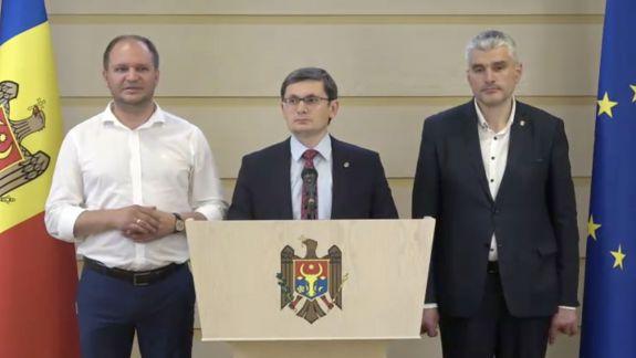 Răspunsul ACUM și PSRM la invitația democraților la discuții: Mai întâi deblocați instituțiile (VIDEO)