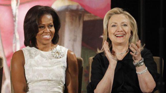 SUA: Michelle Obama a depășit-o pe Hillary Clinton în topul preferințelor
