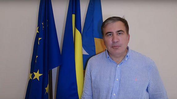 Saakașvili către moldoveni: Sunteți atât de bravo! Poporul trebuie să-și întoarcă puterea, iar locul oligarhului e la pușcărie (VIDEO)