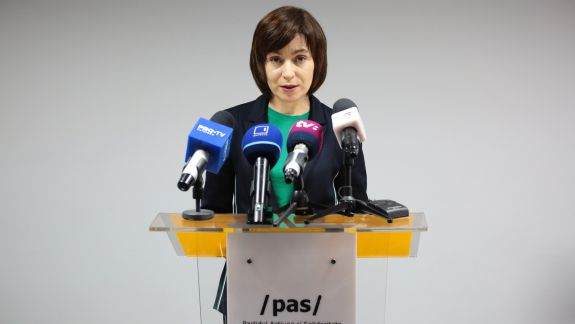 "Sandu: Socialiștii fac o reformă a Justiției marca ""Plahotniuc"""