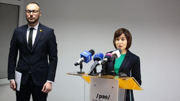 Sandu, despre desemnarea candidatului PPDA, pentru circumscripția Hîncești: Am auzit despre asta din presă