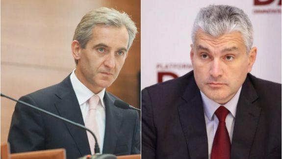 Schimb de replici între Alexandru Slusari și Iurie Leancă: Un deputat nu poate solicita Procuraturii să deschidă dosar penal