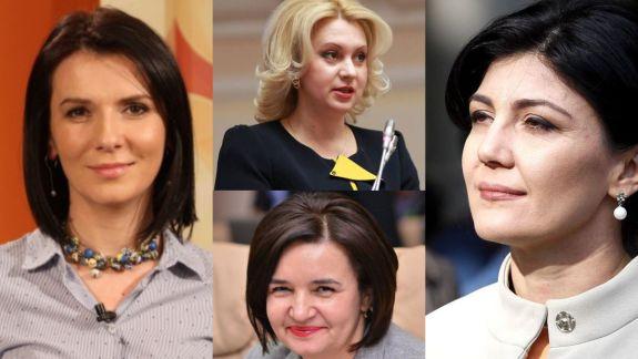 Soția fostului Guvernator BNM Dorin Drăguțanu, în top-3 femei de pe lista democraților. Alături de ea - Babuc, Radu și Ivanov