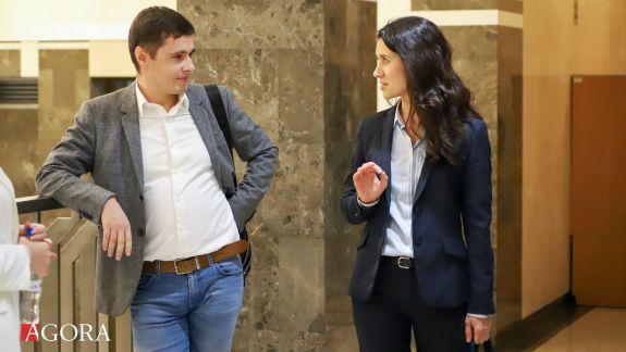 """Stamate îi răspunde lui Nagacevschi: """"Are și probe video?"""". Ex-ministra spune că nu știa despre demersul de eliberare a lui Filat"""