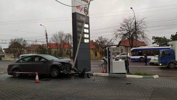 Telecentru: O șoferiță și doi copii au ajuns la spital în urma unui accident rutier (FOTO)