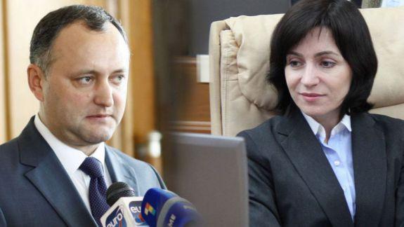 Încrederea în politicieni: Igor Dodon și Maia Sandu cresc în sondaje, iar Andrei Năstase și Pavel Filip scad