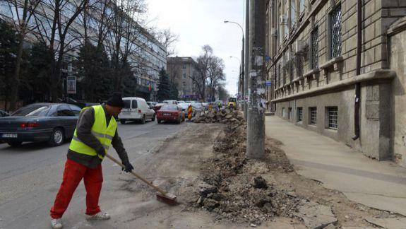 Traficul închis până pe 31 ianuarie, pe o porțiune de stradă din centrul Capitalei