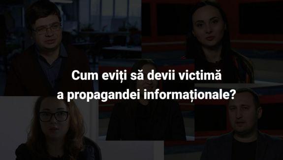 VIDEO. Cum te ferești de propaganda informațională?