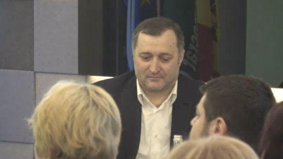 Vlad Filat a venit la ședința Consiliului Național Politic al PLDM (LIVE)