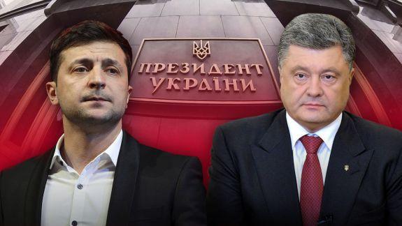 Zelenski VS Poroșenko: Ucrainenii își aleg președintele în al doilea tur