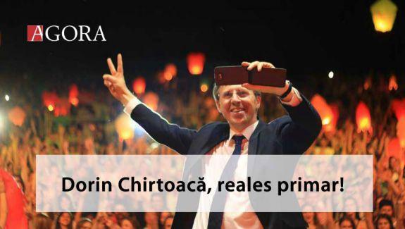 Dorin Chirtoacă câștigă al 3-lea mandat de primar în Chișinău