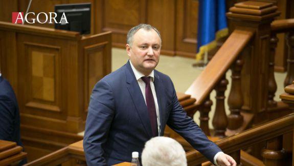 FOTO. LIVE. Ceremonia oficială de învestire a președintelui ales Igor Dodon. Primul discurs oficial în fața cetățenilor
