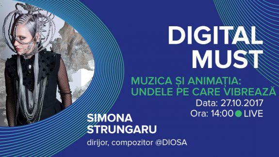 LIVE. DigitalMUST: Muzica și animația