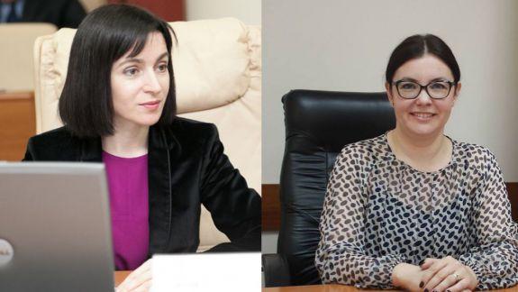 Maia Sandu afirmă că șefa CEC ar deține un site care a difuzat știrea falsă despre migranții sirieni