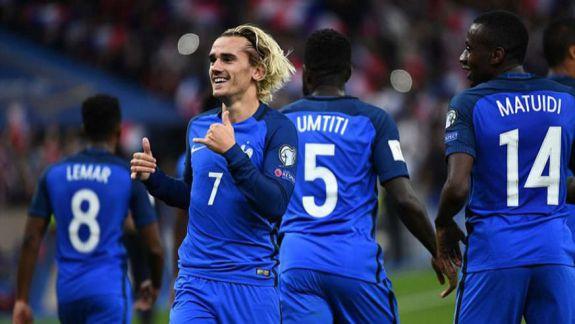 Replica lui Griezmann pentru cei care spun că naționala Franței are mai mulți jucători africani