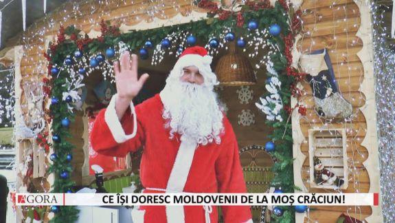 VIDEO. Ce își doresc moldovenii de la Moș Crăciun