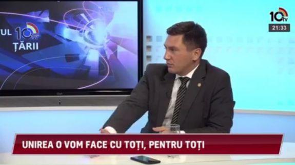 VIDEO. Constantin Codreanu: Năstase nu vrea să-și asume mesajul unionist, deci nu poate fi candidatul unioniștilor
