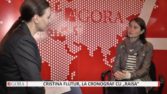 """VIDEO. Cristina Flutur despre """"Raisa"""": Cu cât mă documentam mai mult, cu atât mă înspăimântam mai tare"""