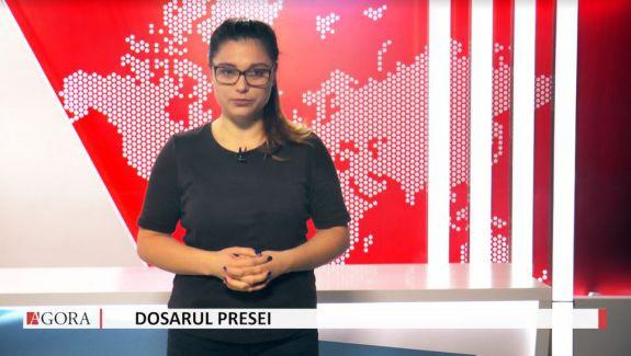 """VIDEO. """"Dosarul Presei"""", despre promovarea lui Dodon la posturile rusești și tehnicile de manipulare în media din RM"""