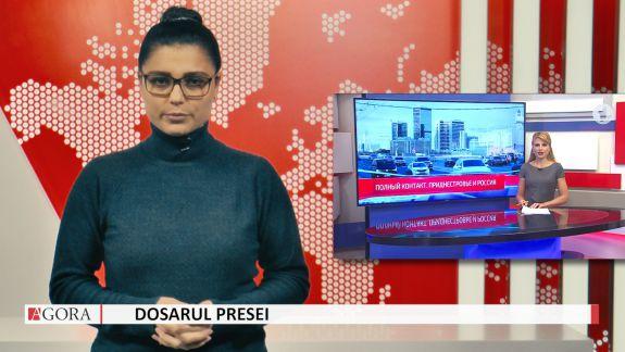 """VIDEO. """"Dosarul Presei"""". Jurnaliștii din regiunea transnistreană despre relația Tiraspolului cu Moscova: """"Polnîi contact"""""""