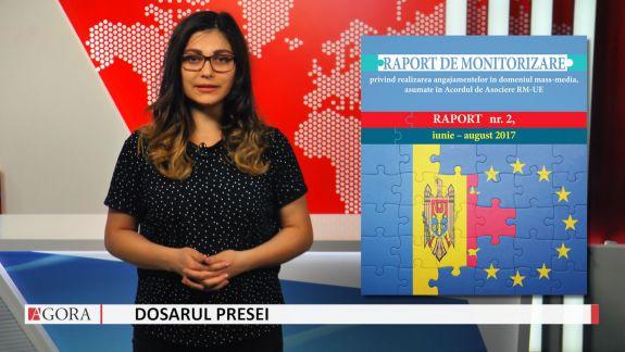 """VIDEO. """"Dosarul Presei"""" despre raportul API: Moldova realizează parțial angajamentele asumate în PNA pentru implementarea Acordului de Asociere RM-UE"""