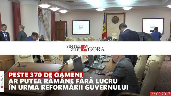 VIDEO. Sinteza Zilei: Reduceri de personal în reformarea Guvernului și amenzi de milioane pentru vânzătorii de țigări