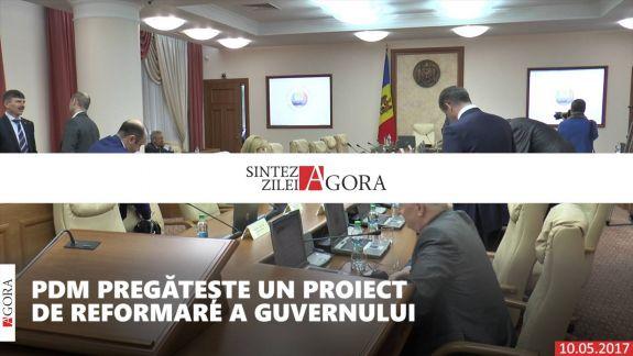 VIDEO. Sinteza Zilei: Reformăm Guvernul cu proteste la Parlament și emoții după Eurovision