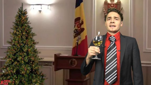"""VIDEO. Stimați """"cancetățeni"""", iată mesajul de Revelion al președintelui Republicii Moldova rostit la #Zerodoi"""